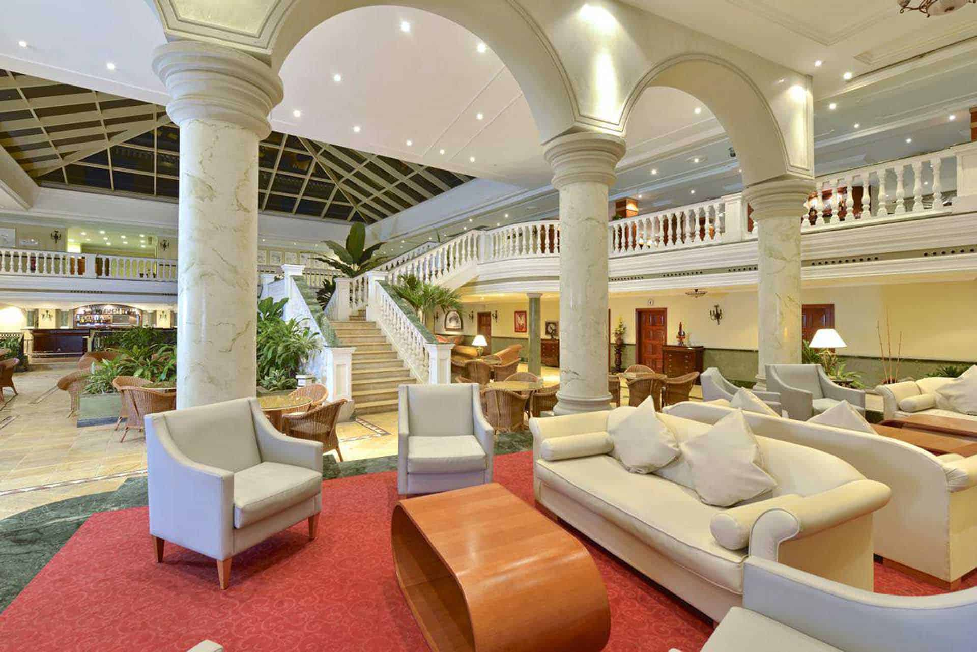 H0932 Hall hotel Parque central La Havane Cuba