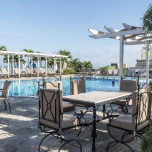 H0932 Terrasse hotel Parque central La Havane Cuba