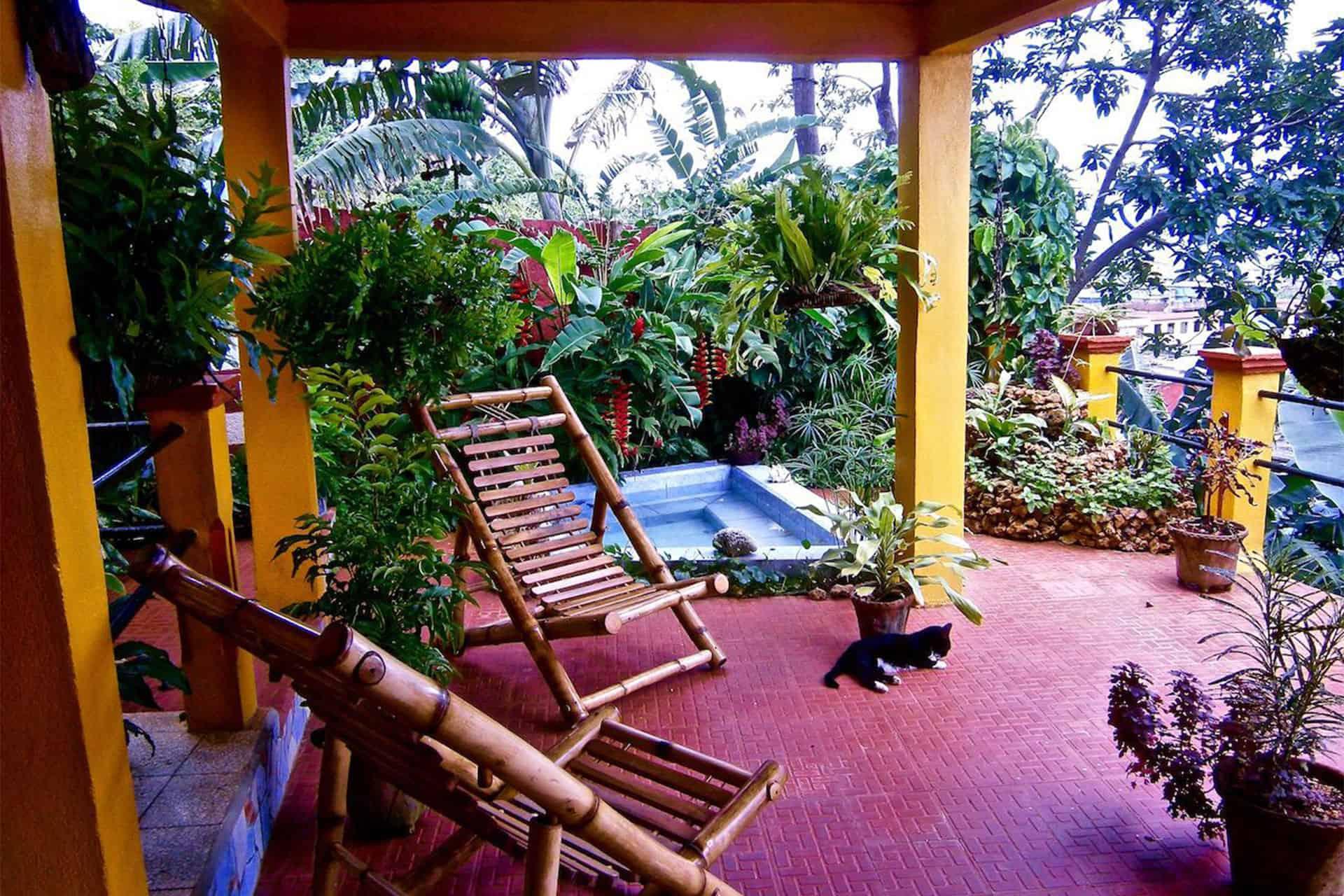 baracoa patio terrasse cuba autrement