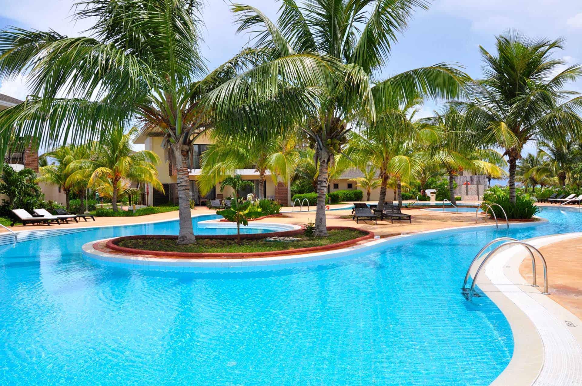 cayo santa maria hotel piscine palmiers cuba autrement 3