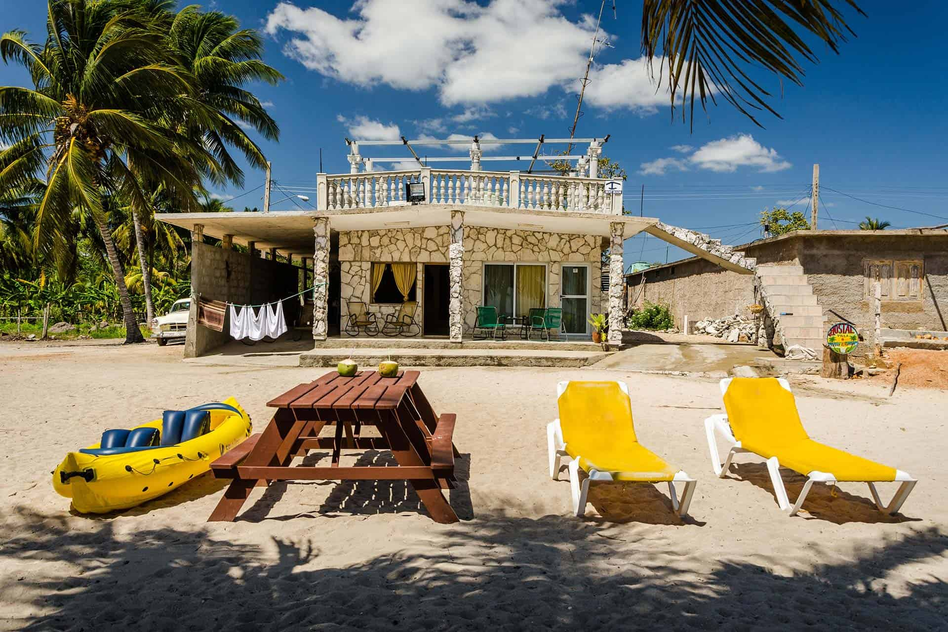 cienaga de zapata maison de plage kayak cuba autrement