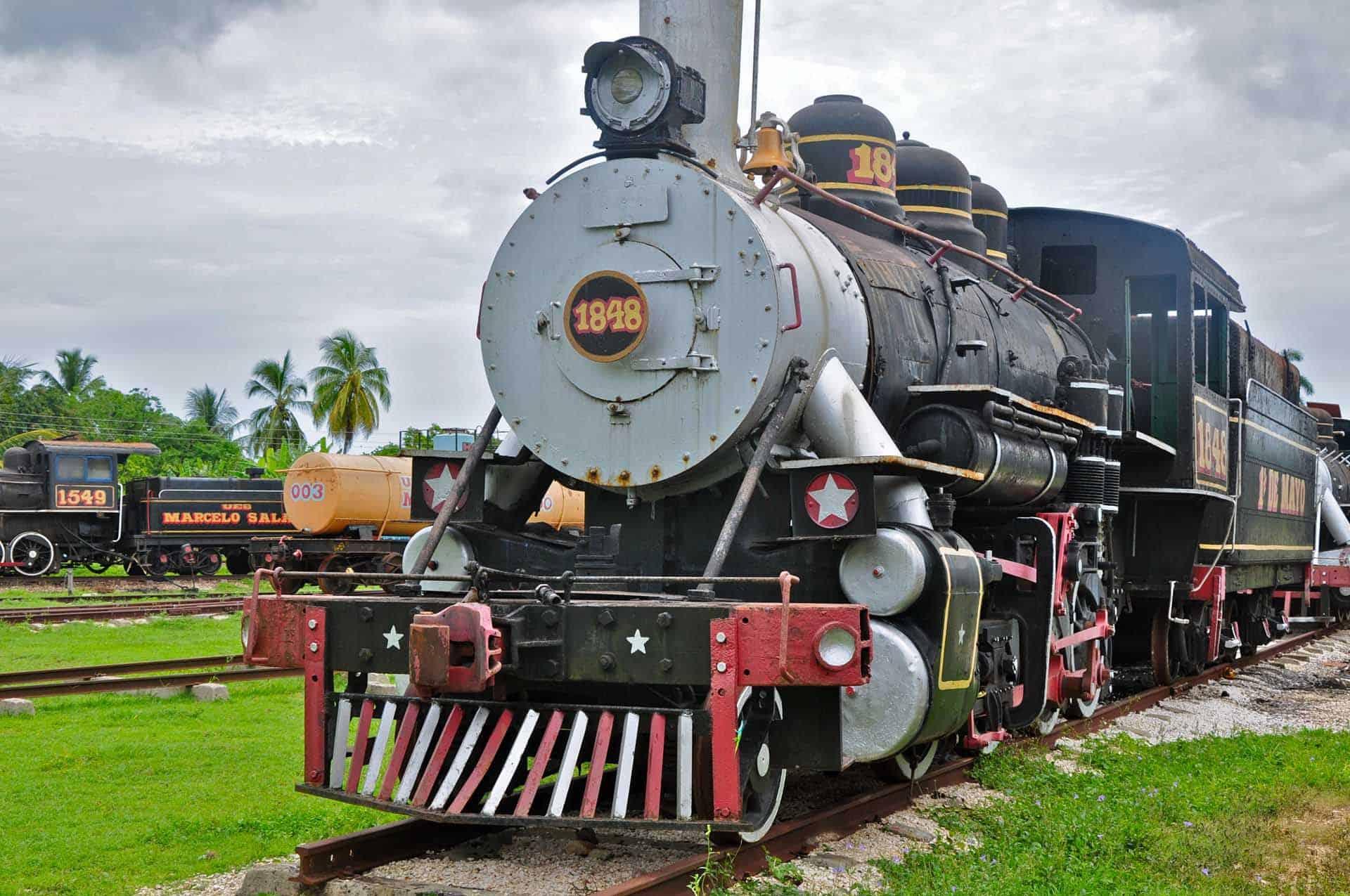 remedios musee agro industrie ancienne sucrerie locomotive cuba autrement