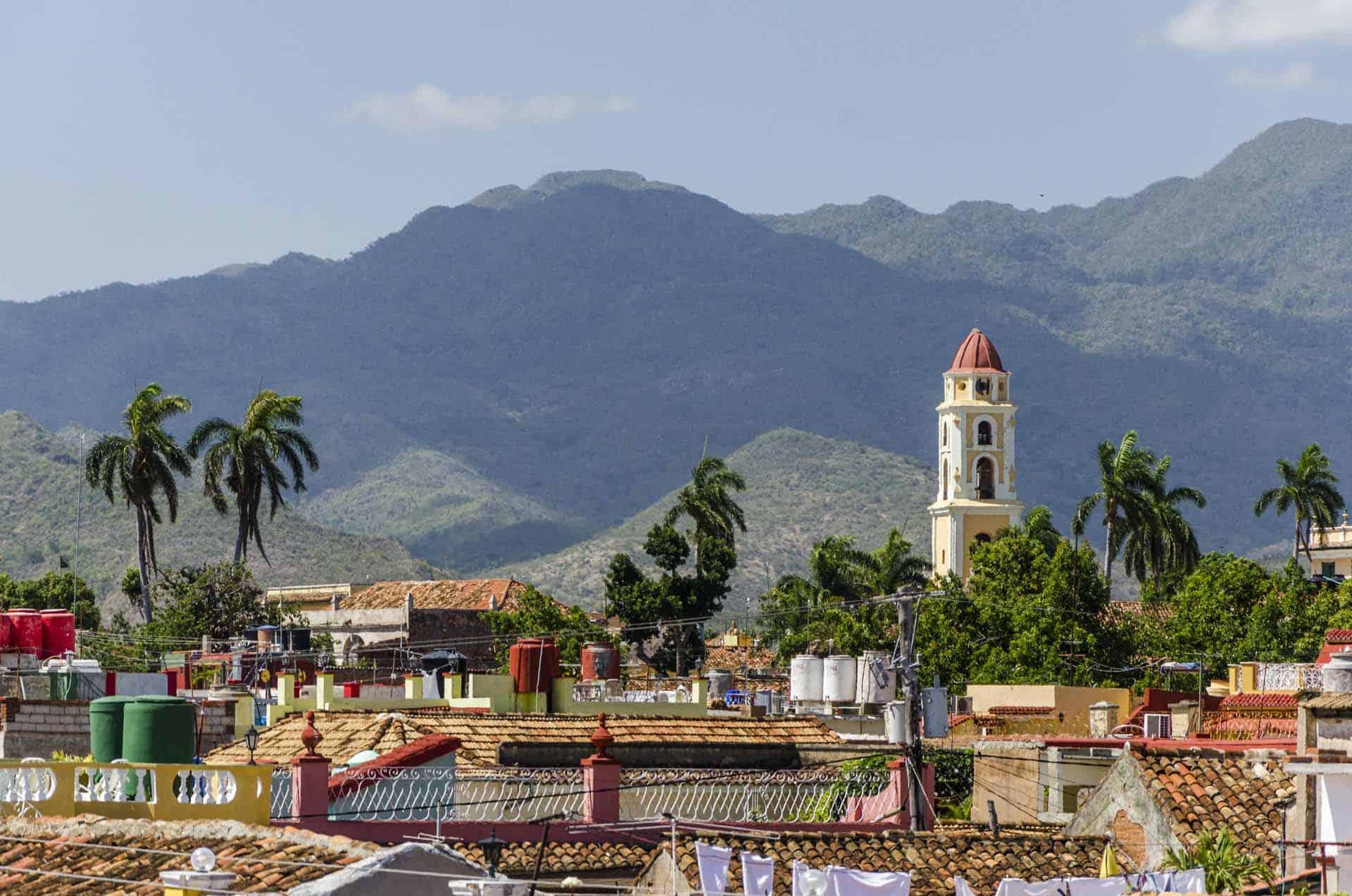 trinidad vue ville montagnes cite coloniale cuba autrement 1