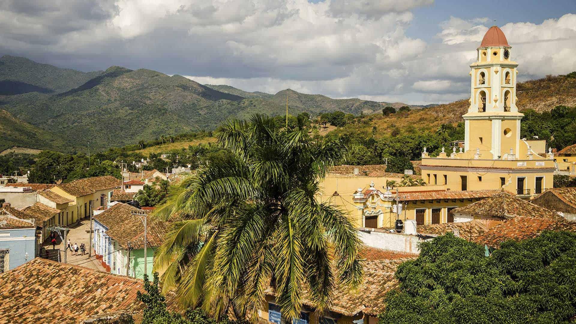 trinidad vue ville montagnes cite coloniale cuba autrement 2