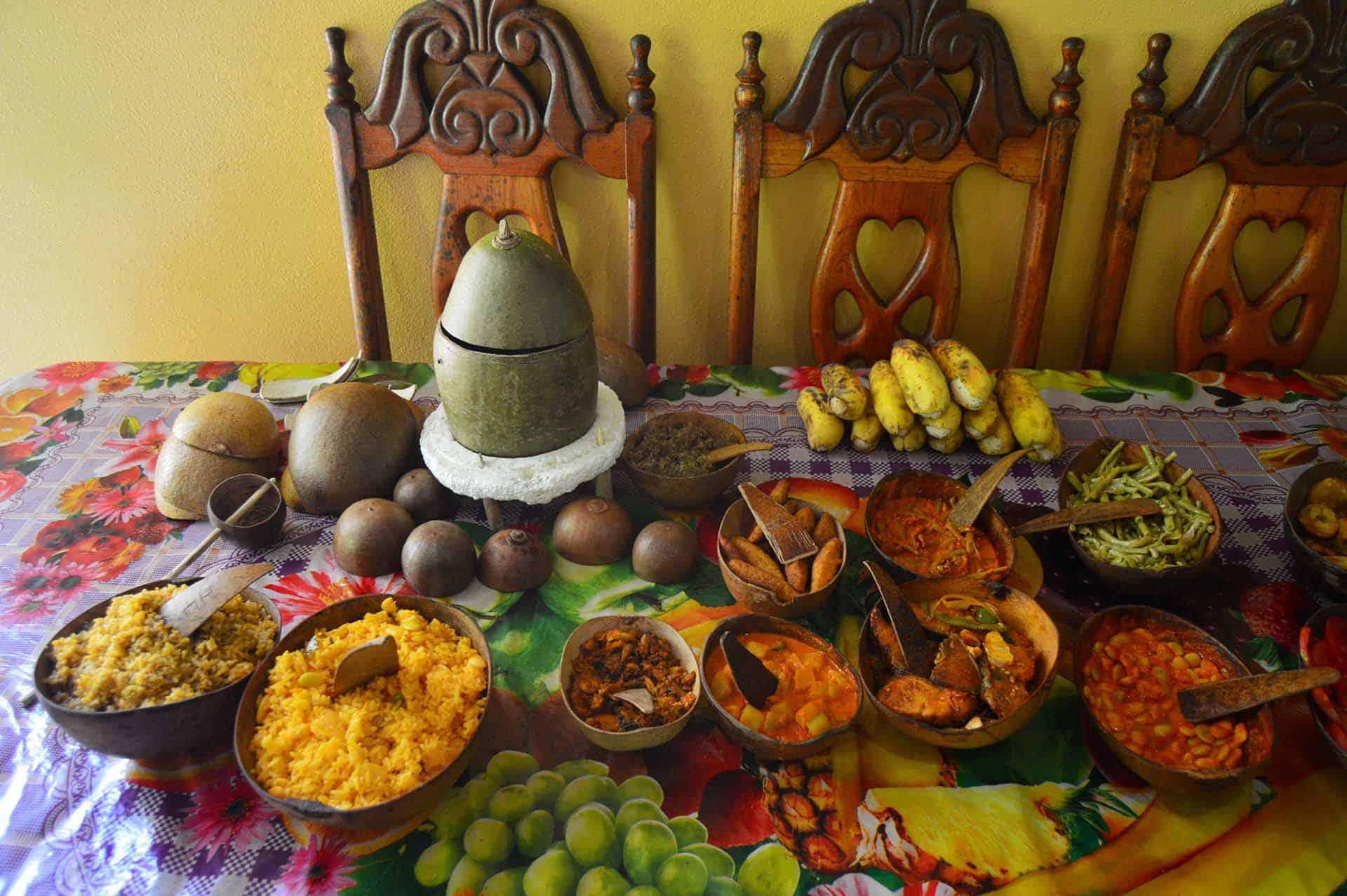 baracoa table nourriture repas cuba autrement